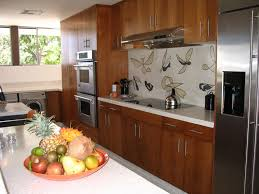 Interior Kitchen Ideas Elegant Mid Century Modern Kitchen Concept With Certain Formal