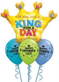 fathers day balloons king for a day s day balloon bouquet tulsa ok