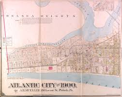 Chelsea Map Historical Atlantic City New Jersey Maps