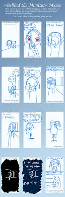 Meme Monitor - behind the monitor meme by master 0f puppets on deviantart