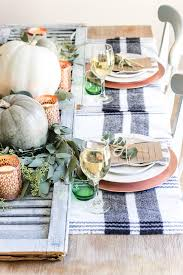 green and copper thanksgiving tablescape printable bless er house
