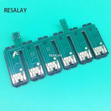 reset epson 1390 printer 1pcs t0851 t0856 inkjet ciss reset combo chip for epson stylus photo