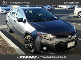 toyota corolla 2014 used toyota corolla s plus at kearny mesa toyota serving