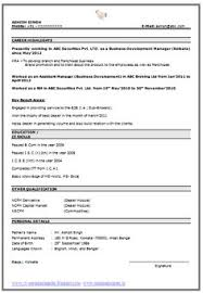 The Best Resume Format by Show Me Resume Format 2017 Show Me A Free Sample Resume Resume