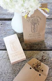 seed packets wedding favors 4 diy wedding favors to make with rubber sts