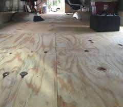 Installing Laminate Flooring On Plywood Subfloor Adventure Or Bust Workweek 3 U2013 Subfloor Installation