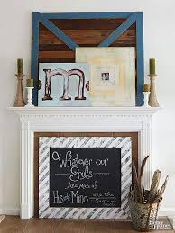 Creative Ideas For Decorating Your Room Fireplace Mantel Decorating