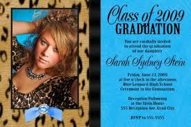 graduation announcement exles high school graduation invitation wording sansalvaje