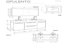 Bathroom Cabinet Height Medicine Cabinet Depth Vessel Sink Dimensions Bathroom Medicine