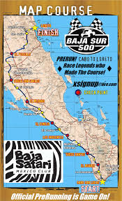Baja Mexico Map by Baja Racing News Live Baja South Sur 500 History And Possible