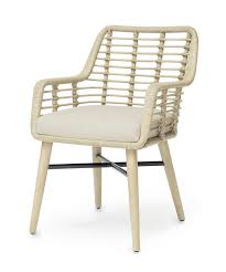 Palecek Bistro Chair Palecek Emery Arm Chair Arms Rattan And Dining