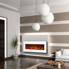 ashford 50 inch white ventless heater electric wall mounted