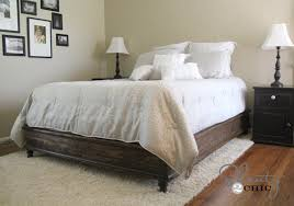 Platform Bed Queen Diy by Ana White Chestwick Platform Bed Queen Size Diy Projects