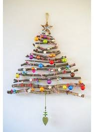 wall christmas tree made wall christmas trees home interior design kitchen and wall