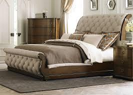 King Bedframe Bedroom Upholstered King Size Bed Frame Tufted King Bed