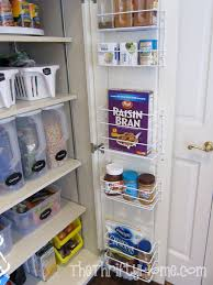 How To Organise A Small Kitchen - the thrifty home simple solutions to organize a deep pantry