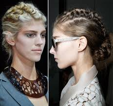 hair style for spring 2015 spring 2015 braided hairstyles inspired from the runway fashionisers