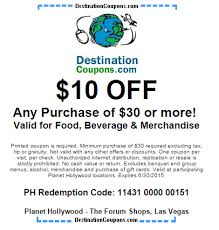 Buffet Coupons For Las Vegas by Planet Hollywood Restaurant Coupon 10 Off Just Vegas Deals