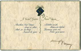 new year post card happy new year pique of the week