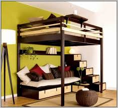 magnificent maintenance loft bed with desk and couch kids