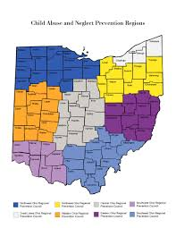 Central Ohio Map by Odjfs Online Ohio Children U0027s Trust Fund