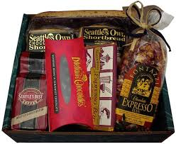 seattle gift baskets coffee gift box seattle gift basket company