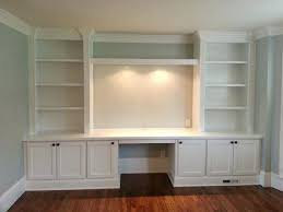 Built In Office Furniture  Adammayfieldco - Custom home office furniture