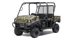 jeep army green 2017 mule 4010 trans4x4 camo mule side x side by kawasaki