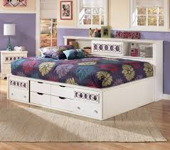 15 best of zayley twin bookcase bed