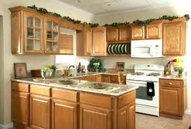 kitchen cabinets decorating ideas decorating ideas for kitchen cabinet tops pictures