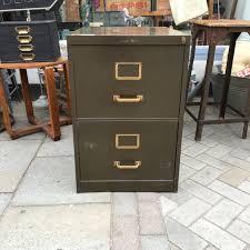 Retro Filing Cabinet Vintage Metal Filing Cabinet