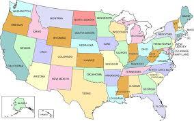 map usa states free printable map usa free printable major tourist attractions maps