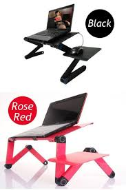 Rolling Laptop Desk by Large Laptop Cooling Table Sofa Desk Stand Folding Multi Angle