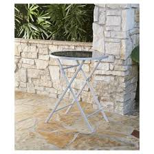 Patio High Top Table Delray 3pc Metal Patio High Top Folding Patio Bistro Set Cosco