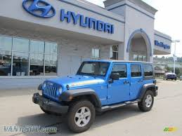 jeep islander 2010 jeep wrangler unlimited islander edition 4x4 in surf blue