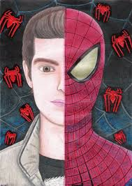 spider man drawing 2012 andrecamilo20 deviantart