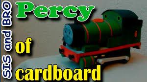 percy train cardboard free gift cardboard models trains