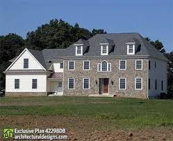 colonial house plan regal colonial house plan 42298db architectural designs