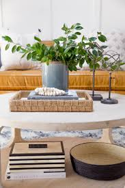 livingroom table how to style a round coffee table u2014 studio mcgee