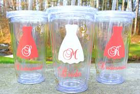 bridesmaid cups 3 bridesmaids tumblers 16 ounce insulated tumblers with lid