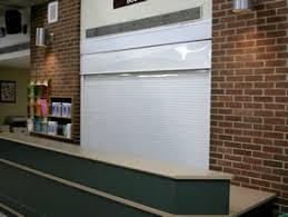 Overhead Security Door Counter Shutters Alpine Counter Security Shutters For Buffalo