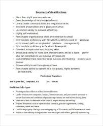 real estate sales resume sales associate resume template 8