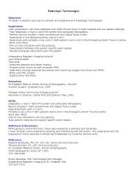information technology resume samples prepossessing mri technician resume sample for your ct tech resume