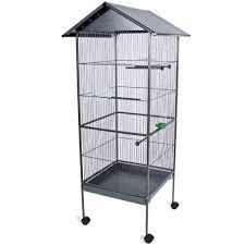 produttori gabbie per uccelli gabbia per uccelli 162cm di altezza in antracite tectake
