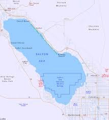 map of the salton sea california