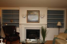 living room fascinating ideas of built in bookcases around