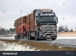 volvo truck 2016 salo finland february 19 2016 volvo stock photo 386971792