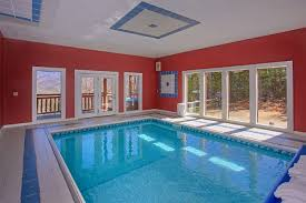 swimming pool room swimming pool cabins in pigeon forge private in cabin pool