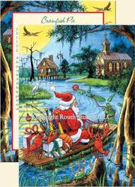 cajun santa on the bayou bringing home ezra