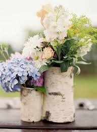 country centerpieces 20 rustic wedding centerpieces with bark container deer pearl